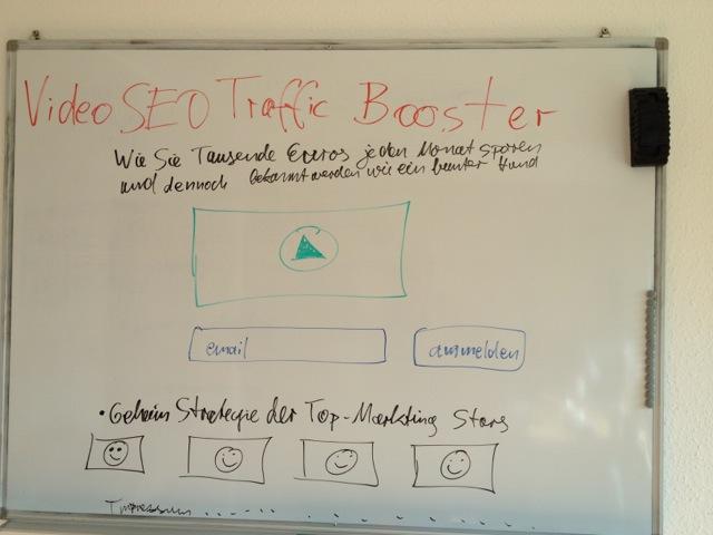 Video SEO Traffic Booster Landingpage